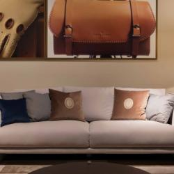 Exclusive by Andreotti - Trussardi Casa 3 Seater Sofa