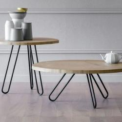 La Bottega Interiors - Elegant Contemporary Side Table And Coffee Table