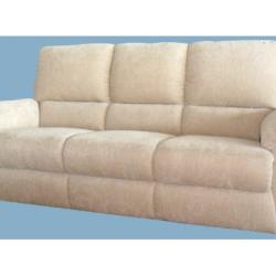 Aletraris Furniture - 3 Seater Fabric Sofa