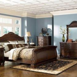 Zarco Furniture - Ashley Rustic Bedroom