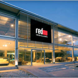 Red Cube Furniture Limassol Showroom at Agios Athanasios Industrial