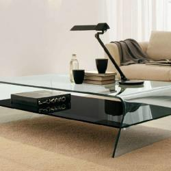 Red Cube Furniture - Modern Glass Coffee Table