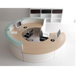 Seccom Furniture - Quadra Series Reception Office Furniture